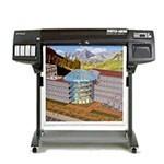 HP Designjet 1050c plus 36 pouces papier poster