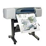 HP Designjet 500ps 24 pouces papier poster