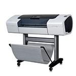 HP Designjet T1100 PS 24 pouces papier poster