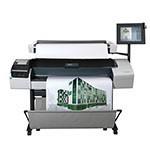 HP Designjet T1200 HD 44 pouces papier poster