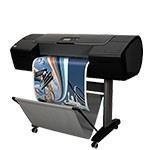 HP Designjet Z2100ps 24 pouces papier poster