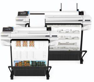 HP Designjet T525 24 pouces papier adhésif