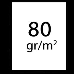 papier traceur 80 gr